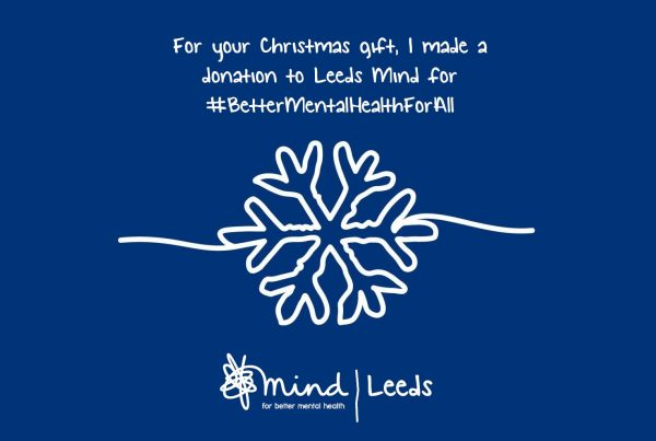 Give the gift of better mental health for all this Christmas - Leeds Mind launches its online shop!