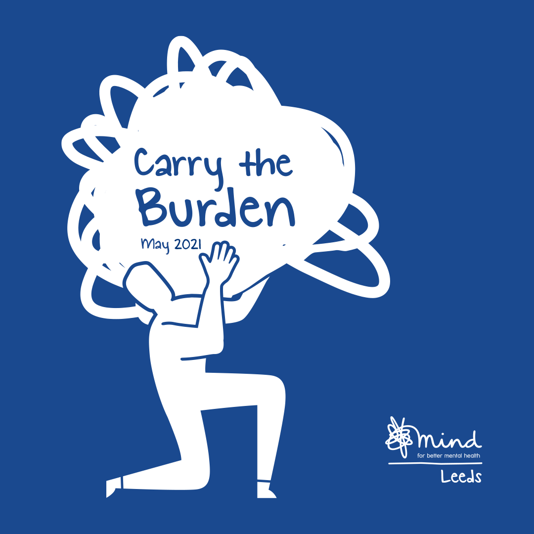 Will you help us #CarryTheBurden in 2021?